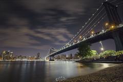 under the bridge (Gustavo Tavo) Tags: nyc longexposure bridge night canon cityscapes 5d eeuu gustavotavo