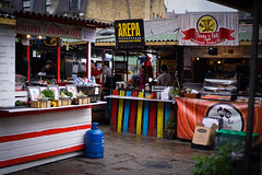 Street Food (etiennebill) Tags: street food london colors 35mm town market unitedkingdom outdoor camden sony f18 streetfood camdentown camdenlockmarket justfood a6000 sonyalpha6000