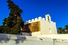 Iglesia fortificada de San Jorge - ibiza - (ibzsierra) Tags: ibiza eivissa baleares canon 7d 24105isusm iglesua church forters fortificada santjordi sanjorge cielo azul blue sky