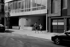 Williamsburg (Mattron) Tags: nyc newyorkcity blackandwhite newyork film brooklyn analog zeiss 35mm kodak trix streetphotography rangefinder contax williamsburg 50mmlens contaxiiia