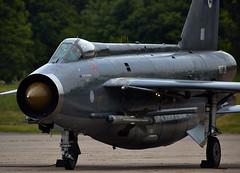Lightning (Bernie Condon) Tags: vintage fighter military lightning preserved raf coldwar warplane bac interceptor supersonic englishelectric bruntingthorpe