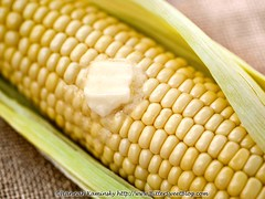 Buttered Corn (Bitter-Sweet-) Tags: vegan food healthy fresh corn miyokos miyokoskitchen buttery nondairy dairyfree cultured artisan melting hot summer seasonal vegetable produce
