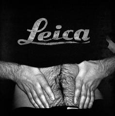 Leica Gut (christait) Tags: leica blackandwhite bw hairy canada man calgary studio gut pierre tshirt dude hasselblad alberta yyc ilforddelta3200 500cm rodinal1100stand2hrs