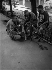 DSC_0483 2 (dmitry_ryzhkov) Tags: cameraphone life street old city summer portrait people urban blackandwhite bw white man black hot men art public monochrome face closeup fence geotagged photography photo blackwhite eyes europe moments break phone shot image photos russia moscow live candid smoke sony young citylife streetphotography fences streetportrait talk streetlife scene stranger bee streetphoto moment alpha smoker unposed blacknwhite smokers citizen dmitry bnw streetphotos ion talker candidportrait candidphoto smokebreak candidphotography mobilography candidphotos ryzhkov xperia