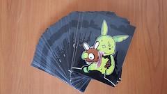 dark wood (deoese*) Tags: streetart rabbit zombie stickers dose bunney stickerstrade bunnybrigadeamsterdam