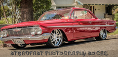 (Jesus_LuvzU) Tags: show california ca red ontario classic cars colors car canon route66 socal chevy chrome greasers impala rims hotrods supersport canon70d summer2014 steadfastphotographysocal