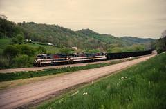 MGA 2310 at Blacksville, PA (dl109) Tags: b237r monongahelarailway