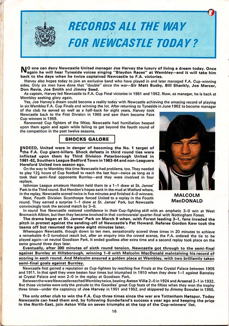 LIVERPOOL VS NEWCASTLE United - 1974 FA Cup Final - Page 16