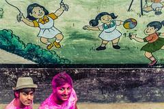 Holi-2015 | Hyderabad (Shutter Sloka) Tags: street colors nikon streetphotography hyderabad streetphotographer nikkor50mm festivalofcolors streetsofindia telangana indianstreets begumbazar nikond5200 photographersofindia vamshigadagoni vamshigadagoniphotography shuttersloka holi2015