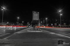 Luces que van y vienen (DaniFdezKarbo) Tags: españa night luces noche andalucía spain nocturna córdoba coches desaturación desaturaciónselectiva