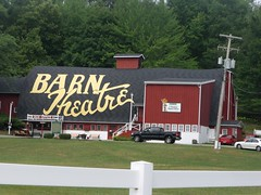 Red Barn Theater comment by Walter Scott (FotoGuy 49057) Tags: barn theatre michigan augusta
