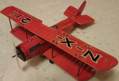 JAPAN JN4 (NyamalaTone) Tags: vintage airplane toy tin collectible flugzeug jouet avion juguete hojalata tinplate blechspielzeug