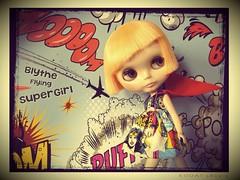 Blythe SuperGirl...  (BaD 3/7/15 ~ Fly Like A Girl)