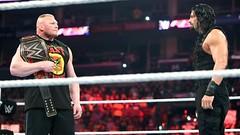 Roman Reigns and Brock Lesnar (Mrs. Dean Ambrose) Tags: wwe brocklesnar romanreigns theshieldwwe