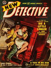 New Detective - 1950-07 - Popular Publications - Cvr by Norman Saunders (kocojim) Tags: fiction art illustration magazine norman cover pulp saunders kocojim popularfiction