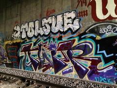 twitr toljue (always_exploring) Tags: portland graffiti twit twir upsk toljue