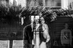 w/kids (home) (Levan Kakabadze) Tags: bw reflection me kids monotone levankakabadzecom