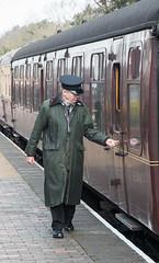 Ready to depart (CdL Creative) Tags: england train canon geotagged eos unitedkingdom norfolk railway steam holt eastanglia 70d poppyline highkelling cdlcreative nr25 geo:lat=529123 geo:lon=11133