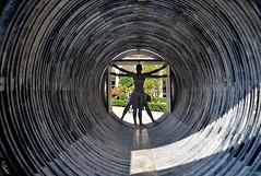 human depth (G.hostbuster (Gigi)) Tags: perspective ghostbuster artecontemporanea universitàdeglistudidimilano gigi49 fuorisalone2015