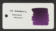 De Atramentis Giacomo Puccini - Word Card