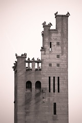 Pigeon Tower [21/30] (eskayfoto) Tags: blackandwhite bw tower monochrome canon eos rebel mono raw april day21 dpp pictureaday knutsford 2130 2015 gaskell digitalphotoprofessional elizabethgaskell 700d canon700d canoneos700d t5i mrsgaskell richardhardingwatt gaskelltower gaskellmemorialtower canonrebelt5i rebelt5i april2015 april2015challenge sk201504216895rawedit4dpp sk201504216895