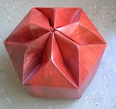 Star Box (modular.dodecahedron) Tags: acrylics tomokofuse origamibox