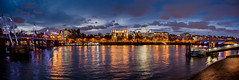 London from the Southbank (Ian Hayhurst) Tags: panorama london night southbank needle april cleopatras