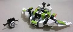 3 (ezrawibowo) Tags: max mix lego transformers build mech alternate moc mixels legoformer nixels
