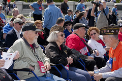 VE Day 2016 At The WWII Memorial  (240) (smata2) Tags: monument washingtondc dc memorial warmemorial veday nationscapital nationalworldwartwomemorial wwiiveteransremembrance