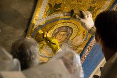2016-05 Mosaics Phase XI Installation 013A1258 (Greek Orthodox Church of the Holy Cross) Tags: california church greek us belmont mosaic orthodox iconography tonelli
