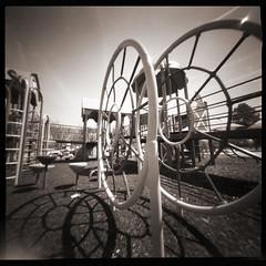 Playground # 2 (WPPD) (DRCPhoto) Tags: kodak t400cn 2016 wppd ondu lenslessphotography worldpinholephotographyday2012