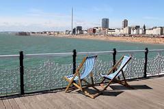 Brighton Pier, looking west (Olivier Monbaillu) Tags: greatbritain england canon brighton unitedkingdom westpier angleterre eastsussex brightonpier palacepier royaumeuni grandebretagne monbaillu eos7d