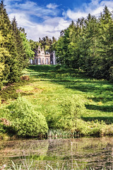 The Banqueting House (robinta) Tags: colour green architecture buildings pond estate pentax nt vibrant scenic historic gibside ks1 tranquil tamron18250mm