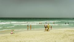 Jumeirah (Bartholomew K Poonsiri) Tags: ocean sea sky people beach water seaside dubai uae middleeast wideangle jumeirah persiangulf sonyepz1650mmf3556oss sonyilce6000