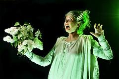Bride (Apionid) Tags: white selfportrait green bride fear lilac frankenstein nerves werehere day154366 nikond7000 hereios 366the2016edition 3662016 2jun16 weddinghorror