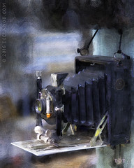 Old Timer (sbox) Tags: painterly vintage textures butcher cameras cameo antiques