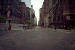 Wide Streets Of NY (Doha Sam) Tags: trip usa newyork slr 35mm nikon kodak manhattan scan midtown negative 400 analogue fe portra manualfocus nikonscan filmiso400 coolscan9000ed newportra samagnew smashandgrabphotocom linearscan educationleave wwwsamagnewcom