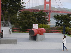 Golden Gate Bridge Cross Section, San Francisco, California (Yortw) Tags: sanfrancisco california ca bridge usa lumix golden march gate cross unitedstates unitedstatesofamerica panasonic northamerica section northernhemisphere 2016 microfourthirds dmcg10