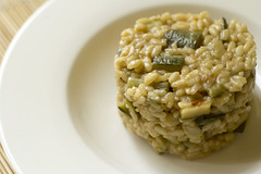 Risotto courgette and mint (Luca Nebuloni) Tags: food mint cibo courgette risotto menta zucchine mangiaconme