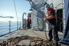 160510-N-EH218-144 (U.S. Pacific Fleet) Tags: ocean usa pacific mob pacificocean cruiser underway deployment 2016 ussmobilebay cg53 7thfleet