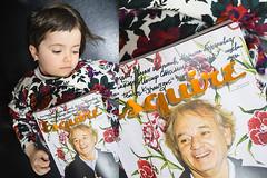 Emilia doesn't like Esquire ( ) Tags: magazine bill sony 28mm 28 manual 20 om murray zuiko esquire a7r