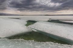 (Alex El Barto) Tags: light lake clouds landscape spring wind may baikal waterscape metling         traveladventure windclouds baikalice uyuga planetbaikal2016 planetbaikal
