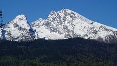Watzmann (christianzink) Tags: schnee berg berchtesgaden wand hill fels landschaft wald hgel knigsee grat gipfel watzmann berchtesgarden bergkamm