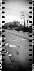 20160404-DSC_8745 (sarajoelsson) Tags: city urban blackandwhite bw panorama film monochrome 35mm gteborg march sweden gothenburg toycamera wideangle panoramic hp5 135 ilford everydaylife 2016 plasticlens filmphotography sprocketholes filmisnotdead filmshooter teamframkallning sprocketrocket believeinfilm digitizedwithdslr