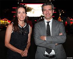 Laura Ascaso, gerente de Ascauto, y Luca Parasacco, consejero delegado de FCA España