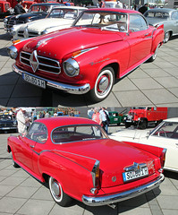 Tailfin Isabella Coup (The Rubberbandman) Tags: world auto old classic beauty car vintage germany nice bright outdoor tail meeting german vehicle oldtimer isabella bremen fin coupe coup tailfin fahrzeug borgward linien