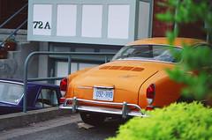 (<mmb>) Tags: auto orange ontario film car vw analog 35mm volkswagen gold automobile kodak ottawa contax ghia rx karmann gold200
