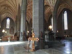 Vadstena 6 (greger.ravik) Tags: vadstena klosterkyrka birgitta heliga interir valvtak pelare mittskepp kyrka tro kaltolska kyrkan katolicismen katolik