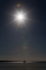 Sunburst Portrait (Mikey Down Under) Tags: sun coast yacht south lifestyle australia spotlight nsw burst greenpatch starburst jervisbay shoalhaven