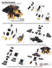Itty Bitty Songbird Instructions (Imagine) Tags: lego mini micro plushie instructions songbird moc 2016 bioshock brickworld imaginerigney brickworldmaster
